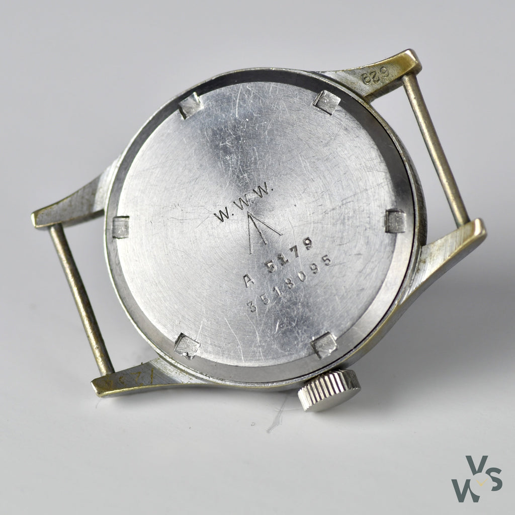 c.1944 Vertex WWW 'Dirty Dozen' - WWII British Army-Issued Military watch - Vintage Watch Specialist