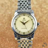 c.1954 Omega Seamaster Automatic Model Ref: 2846-2848-1SC - Beads of rice bracelet - Vintage Watch Specialist