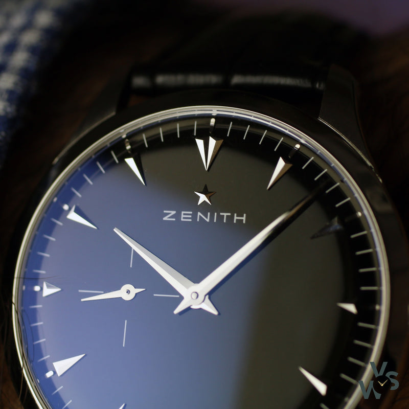 c.2015 Zenith Elite Ultra Thin - 03.2010.681 / 01.c493 - Vintage Watch Specialist