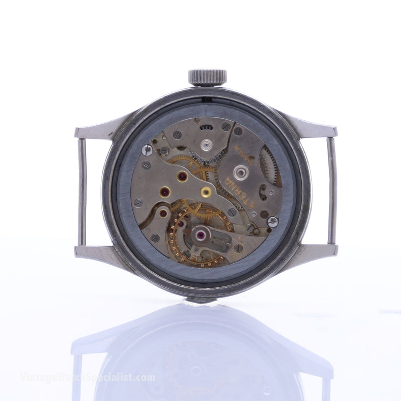 WWW ETERNA WWII - CALIBRE 520H - MECHANICAL HAND WIND