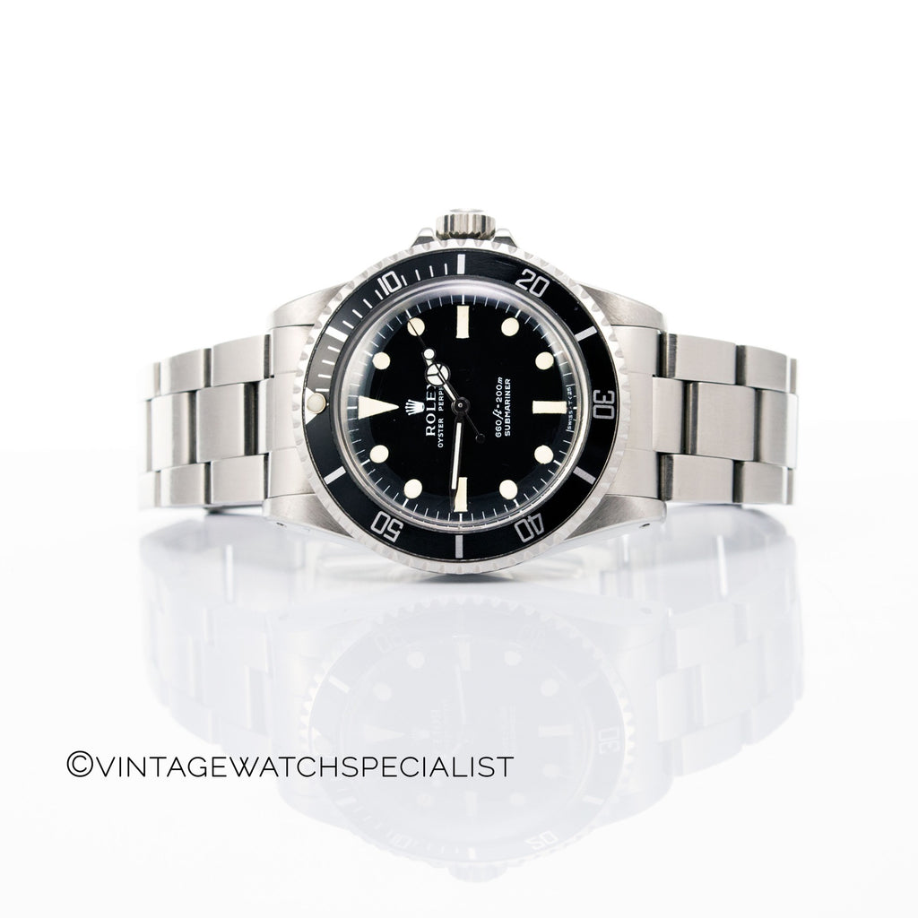 Rolex Oyster Perpetual Stainless Steel Submariner Ref.5513