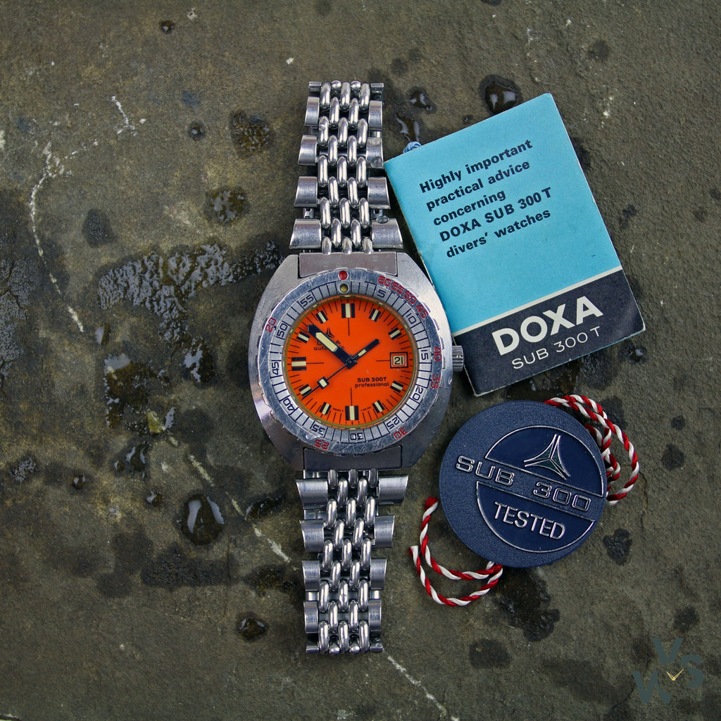 Doxa Automatic Sub 300 T Professional Divers Watch - Vintage Watch Specialist