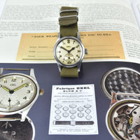 Ebel ATP - Screw-Down case back - WWII British Army-Issued watche c.1944 - Vintage Watch Specialist
