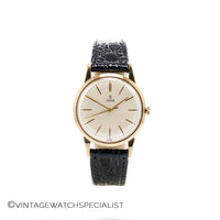 Tudor Small Rose Dress Watch - 9K Gold - c.1963