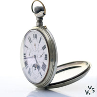 Goliath Jumbo Pocket Watch Case 65460 - Vintagewatchspecialist
