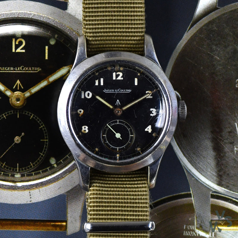 Jaeger LeCoultre - Military Issued - WWW Dirty Dozen - Wristwatch - Circa. 1945 - Calibre 479 - Vintage Watch Specialist