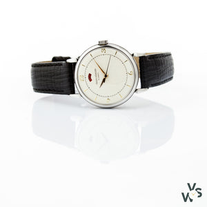 Jaeger LeCoultre Powermatic - Steel 33mm Case - Calibre 481 - C.1952 - Vintage Watch Specialist