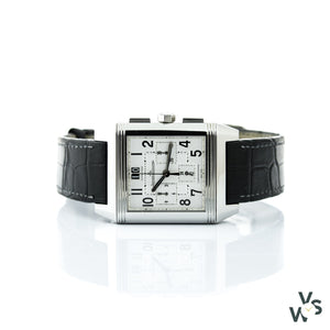 Jaeger Lecoultre Squadra Reverso Chronograph Ref.230.8.45 - Vintagewatchspecialist