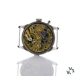 Lemania Single Pusher Chronograph - Vintagewatchspecialist