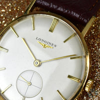 Longines 9ct Gold Dress Watch c.1963 - Vintage Watch Specialist