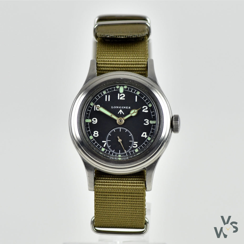 Longines Greenlander - WWW Issued Military 'Dirty Dozen' Watch - Cal-12.68Z - Circa.1944 - Vintage Watch Specialist