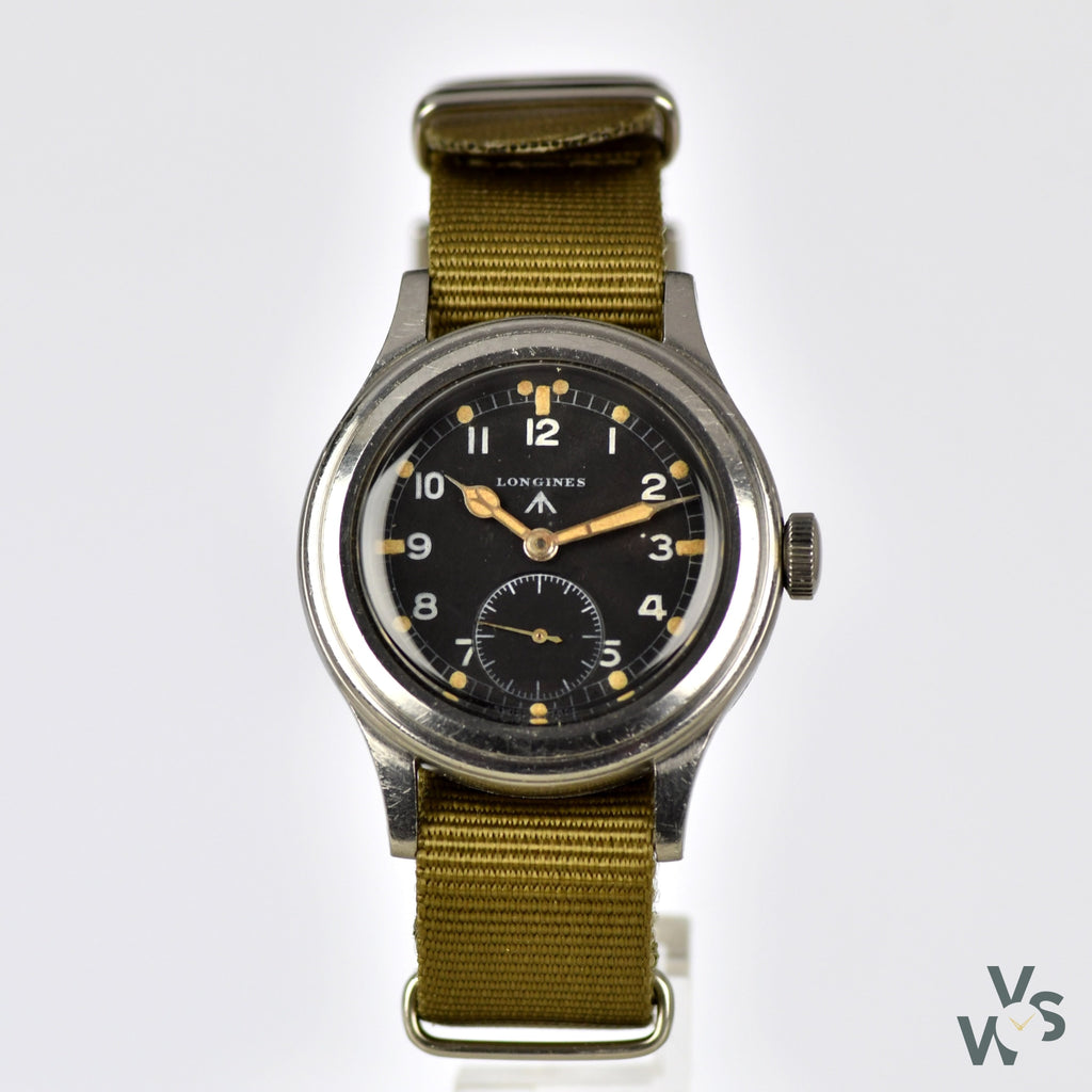 Longines - WWW 'Dirty Dozen' - c.1944 World War II British Army Watch - Vintage Watch Specialist