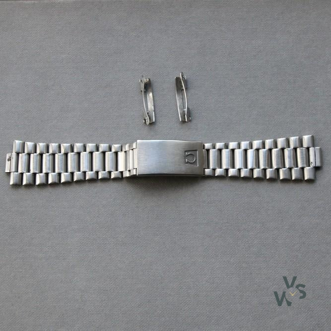 Omega 1170 Watch Bracelet - # 604 end pieces - Vintage Watch Specialist