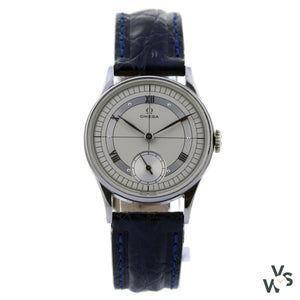 Omega Art Deco Sector Dial Watch Calibre 30 15 Jewels - Vintagewatchspecialist
