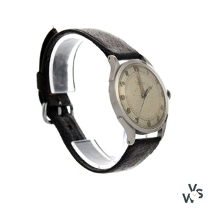 Omega Automatic Stainless Steel Bumper Movement Ref.2584-2480-1 - Vintagewatchspecialist