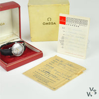 Omega De Ville Model Ref: ST 165.0020 Cal. 552 c.1968 - With Original Omega Boxes and Guarantee Booklet - Vintage Watch Specialist