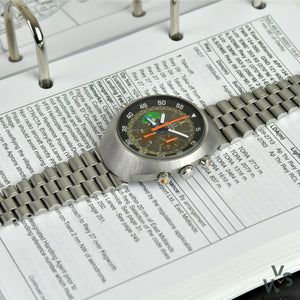 Omega Flightmaster Tropical - Model Ref: 145.013 - Vintage Watch Specialist