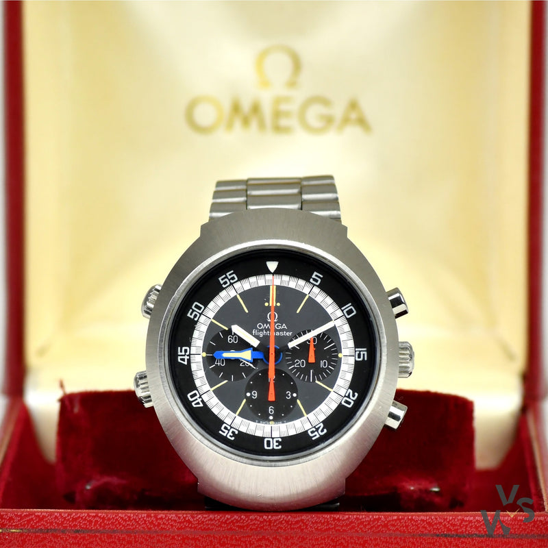 Omega Flightmaster - Vintage Watch Specialist