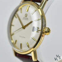Omega Geneve 9K Gold Dress Watch - Vintage Watch Specialist