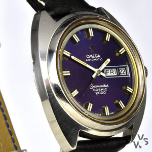 Omega Seamaster Cosmic 2000 - Jumbo - Day/Date - Ref 166.133 - Cal.1022 - circa.1972 - Vintage Watch Specialist
