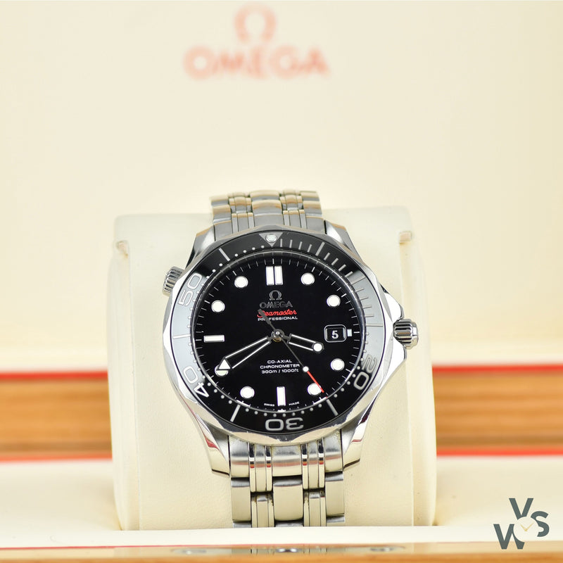 Omega Seamaster Professional 300m - Steel on steel - Chronometer Ref.212.30.41.20.01.003 - Vintage Watch Specialist