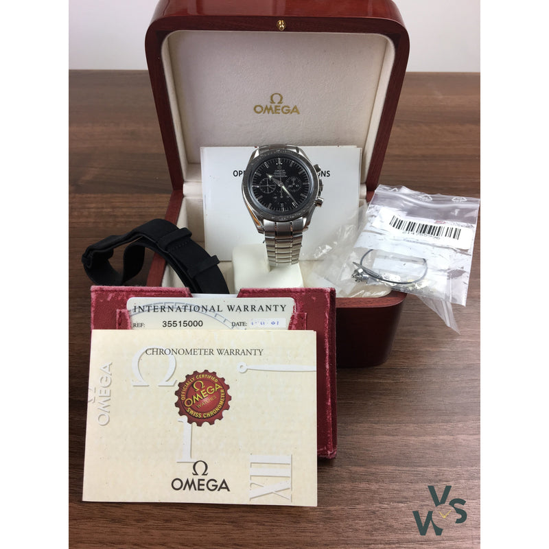 Omega Speedmaster Broad Arrow Chronograph Ref 3551.50.00 - Vintage Watch Specialist