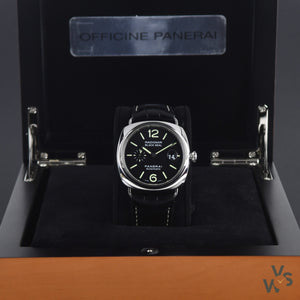 Panerai Radiomir Blackseal Ltd. Edition Ref. PAM 00287 - 2008 complete full set Box + Papers - Vintage Watch Specialist