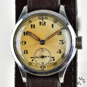 Revue Caliber 57 c.1940s ATP - Army Trade Pattern - British Army-issued WWII Watch - Vintage Watch Specialist