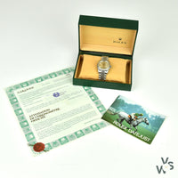 Rolex Datejust 36mm -White Gold Fluted Bezel - Ref: 16234 - With Original Box and Papers from 1994 - Vintage Watch Specialist
