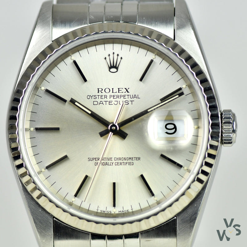 Rolex Datejust 36mm - Model Ref: 16234 - Vintage Watch Specialist