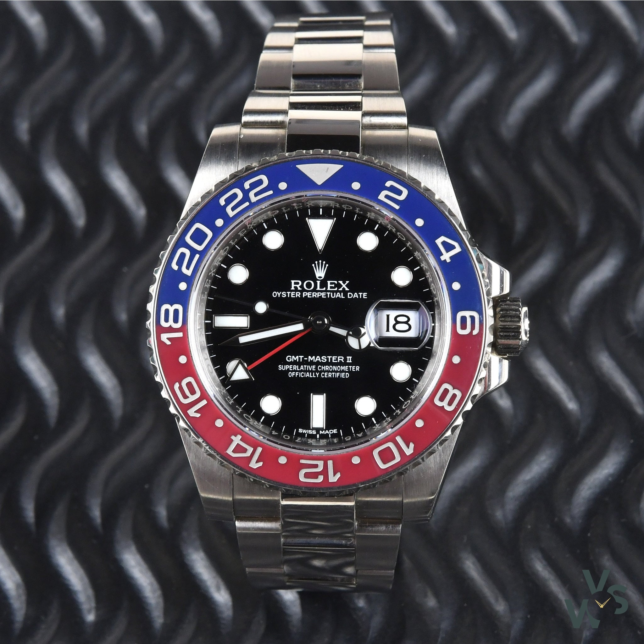 Rolex GMT Master II 'Pepsi' 116719BLRO in 18k White Gold – Vintage Watch  Specialist