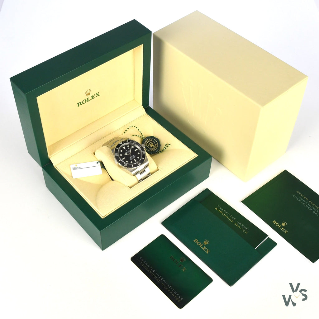 Rolex - No Date Submariner - Ref: 124060 New and Unworn 41mm - With Box and Papers - Vintage Watch Specialist