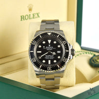 Rolex Oyster Perpetual Sea-Dweller Deepsea with Box and Papers - Vintage Watch Specialist