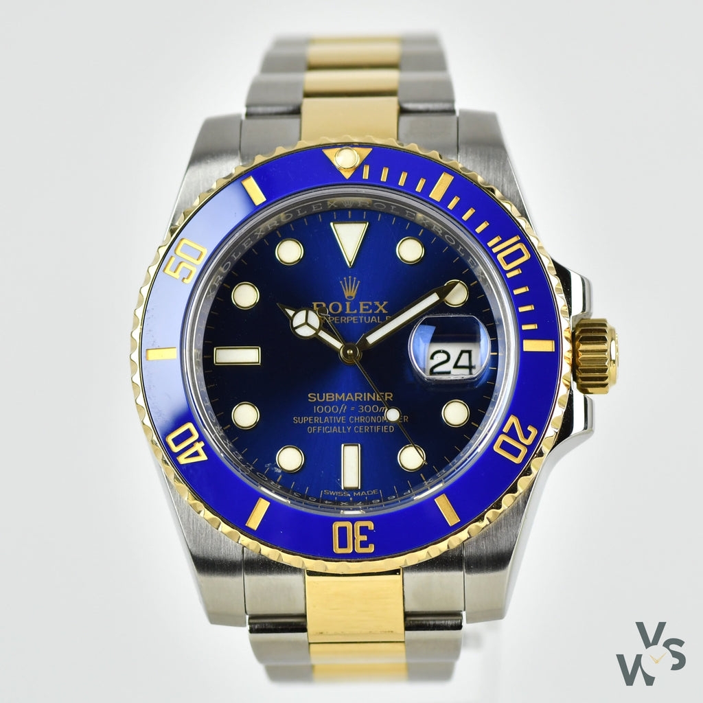 Rolex Oyster Perpetual Submariner Date - Steel / Yellow Gold - 126613LB - 2017 - Vintage Watch Specialist