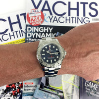 Rolex Oyster Perpetual Yacht-Master 40 - Blue 2020 - Vintage Watch Specialist