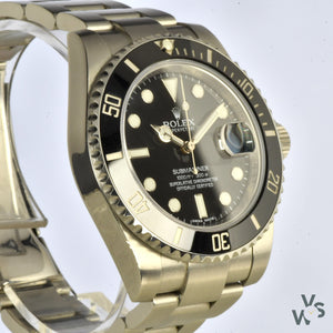 Rolex Submariner 2015 Ref. 116610LN Ceramic Bezel - Box and Papers - Vintage Watch Specialist