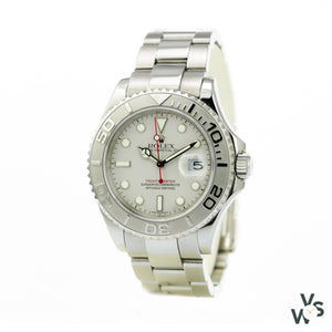 Rolex Yacht-Master Stainless Steel And Platinum Ref.16622 - Watches