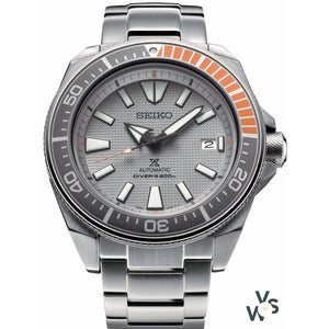 Seiko Prospex Limited Edition Dawn Grey Samurai SRPD03K1 - Vintage Watch Specialist