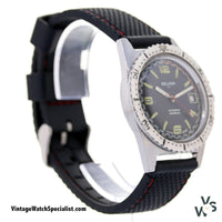 Selhor 71 Automatic Stainless Steel Divers Watch - Vintagewatchspecialist