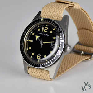 Smiths Astral Diver - English Diving Watch - Caliber 106 - Vintage Watch Specialist