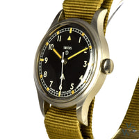 Smiths W10 British Army-Issued Military Wristwatch - Issued 1969 - Vintage Watch Specialist