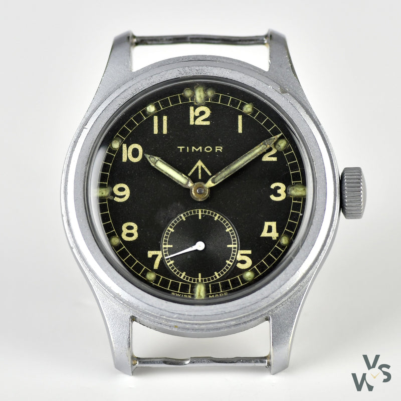 Timor WWW - A World War II Army Issued Military Watch - c.1944 - Known as one of the Dirty Dozen Collection - Vintage Watch Specialist