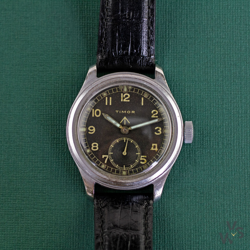 Timor WWW Dirty Dozen WW2 Military Watch - Vintage Watch Specialist