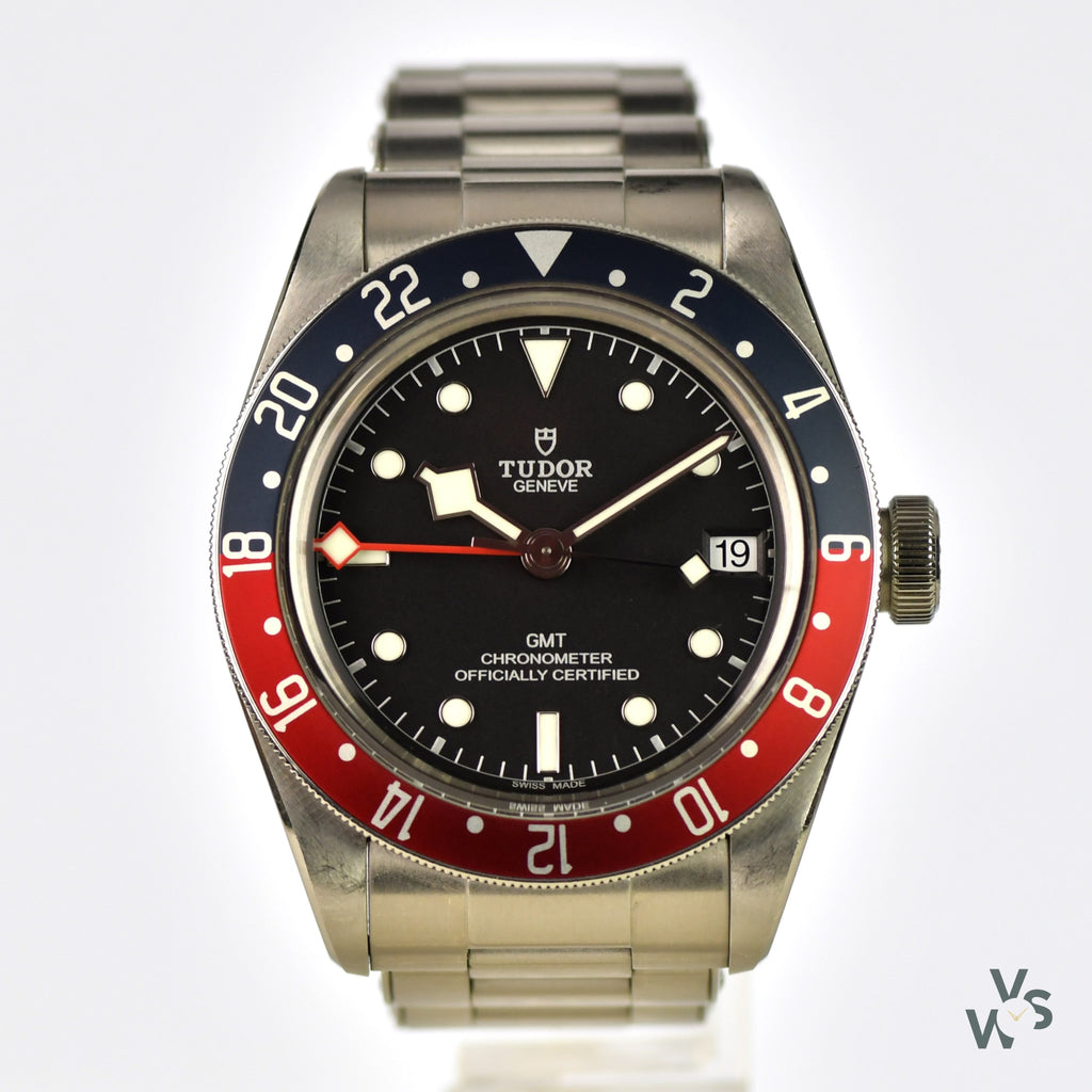Tudor Black Bay GMT Chronometer - Vintage Watch Specialist