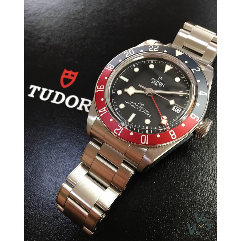 Tudor Geneve Black Bay GMT Pepsi - Ref M79830RB-0001 - Vintage Watch Specialist