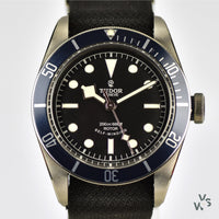 Tudor - Heritage Black Bay Blue - Model Reference: M79220B with ETA Movement - New with Box and Papers - Vintage Watch Specialist