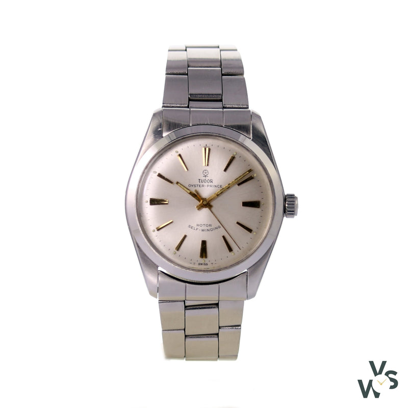 Tudor Oyster Prince Gold Batons Small Rose Ref.7695 - Vintagewatchspecialist
