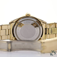 Tudor Oyster Prince Small Rose Model 7965 Cal. - 2461 - Gold Plated Case - Vintagewatchspecialist