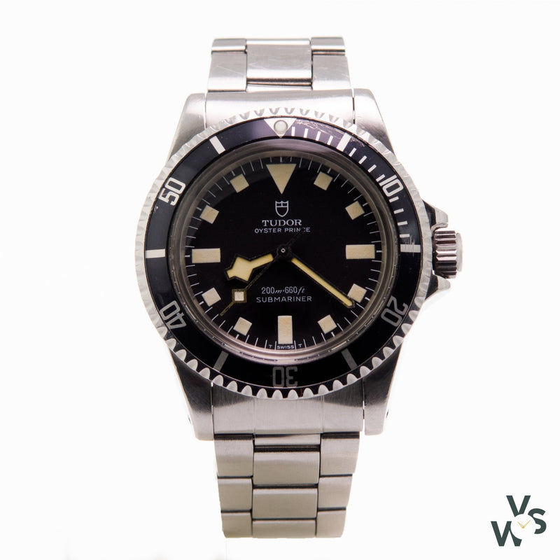 Tudor Oyster Prince Submariner Snowflake Hand - Vintage Watch Specialist
