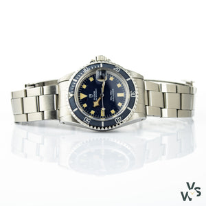 Tudor Prince Blue Dial Oysterdate Submariner Snowflake Ref.94110 - Vintagewatchspecialist